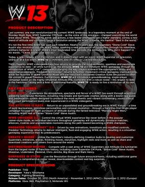 310WWE13 Fact Sheet FINAL