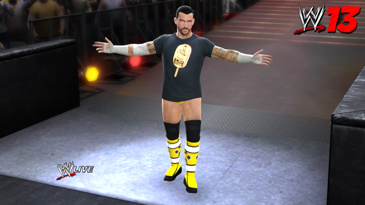 WWE 13 Continues The Hype With CM Punk Ice Cream Bars And More!