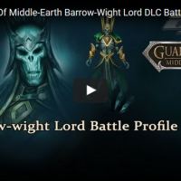 Guardians Of Middle-Earth Barrow-Wight Lord DLC Battle Profile And Trailer