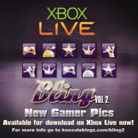 Konsole Kingz Bringing The Bling Pack Vol. 1 & 2 Gamer Pics Out On Xbox Live