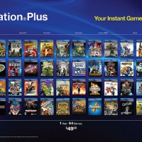 Playstation Plus Celebrates 64 Games For 49.99