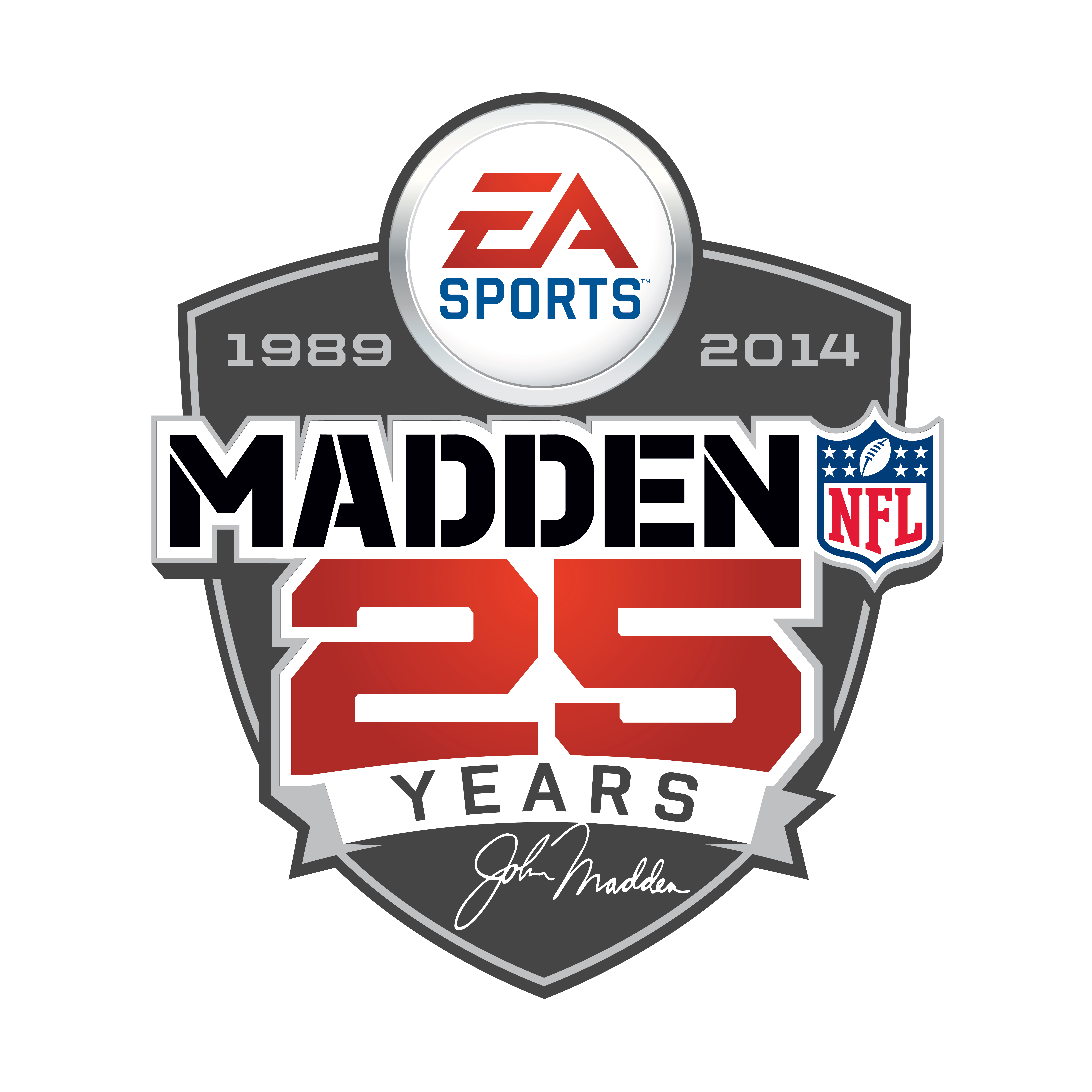 E3 2013 madden nfl 25 official trailer features and more mad25yrshldlogoprimaryrgb biocorpaavc