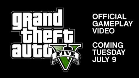 GTA V Gameplay Video Coming Tomorrow