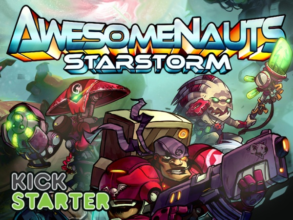 Awesomenauts_Starstorm_Kickstarter