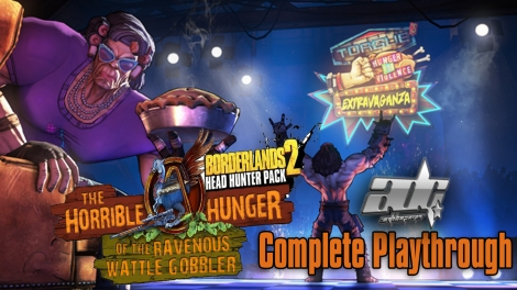 Borderlands_2_The Horrible Hunger of the Ravenous Wattle Gobbler_Complete_Playthrough_Guide