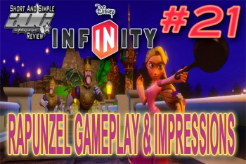 ADG Short And Simple Review: Disney Infinity Rapunzel Figure - Featuring Gameplay Impressions