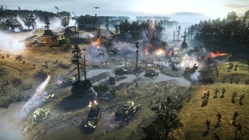 Company Of Heroes 1 And 2 Gets New Dlc And Updates Antdagamer Com