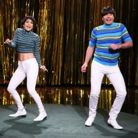 J-Lo Scares The Tight Pants Off Jimmy Fallon