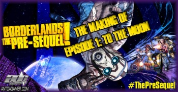 The Making Of Borderlands Pre-Sequel Documentary Episode 1 : To The Moon