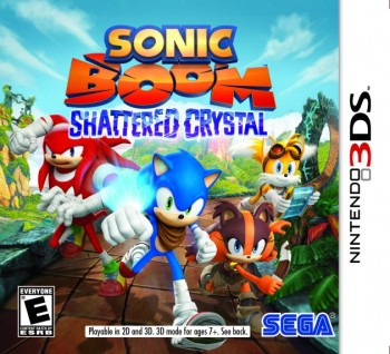 SEGA Announces Release Dates for Sonic Boom Video Games