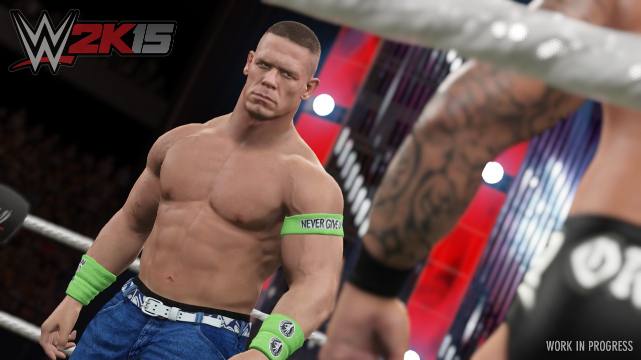 WWE 2K15 Cena Screenshot - First Screenshot Revealed
