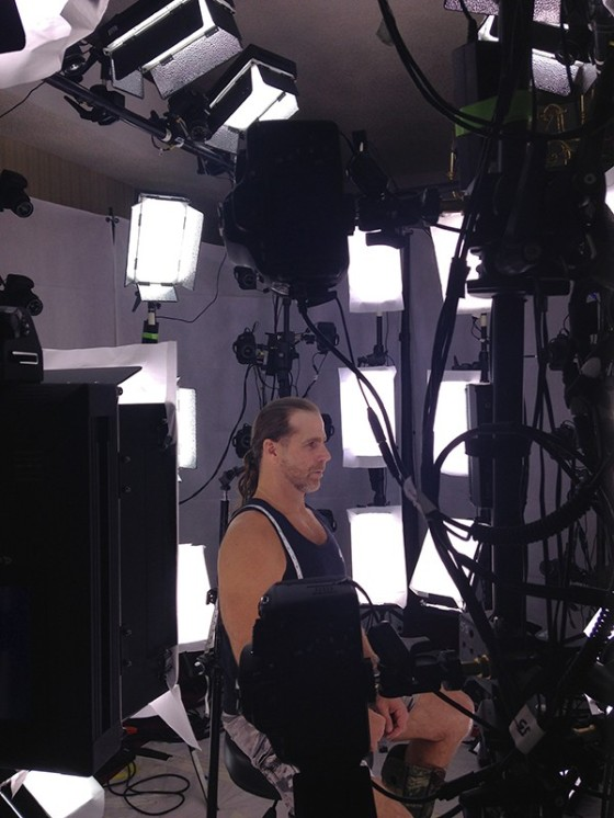 HBK BTS Being Scanned