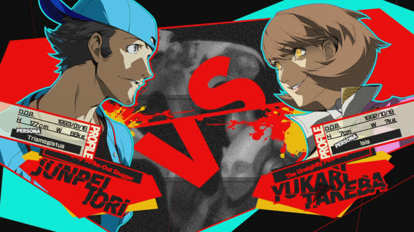 Persona 5 Junpei vs Yukari