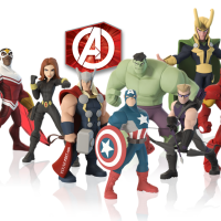 Pixar Post - Disney Infinity 2.0 - Avengers Group