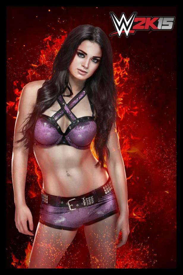 WWE2K15 Paige (1)