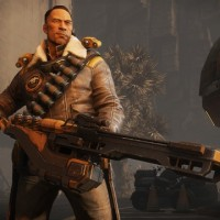 Evolve Introducing Cabot, the leader of the Hunters