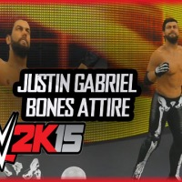 WWE 2K15 Community Spotlight: Justin Gabriel Updated Bones Attire