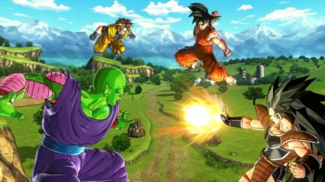 Dragoball Xenoverse Four-Way-Battle