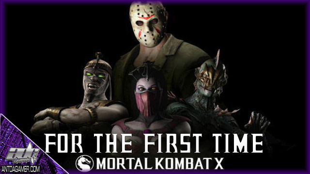 ADG Plays Mortal Kombat X Jason And Horror Pack DLC For The First