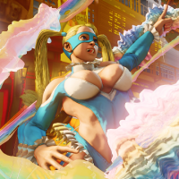 Street Fighter V Rainbow Mika Preview