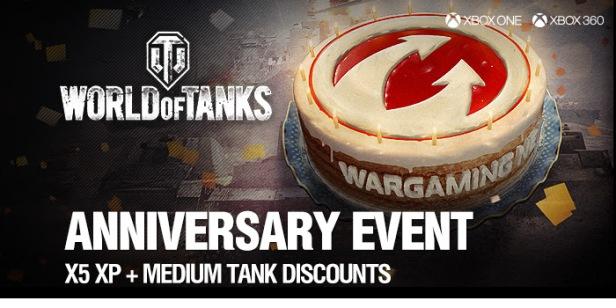 World Of Tanks Anniversary Event