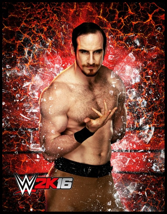 WWE 2K16 AidenEnglish