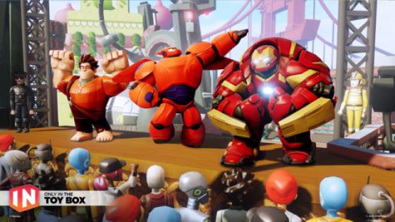 Disney Infinity 3.0 ToyBox_Hulkbuster_Ralph_Baymax-L