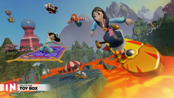 Disney Infinity 3.0 ToyBox_Mulan_Olaf-L