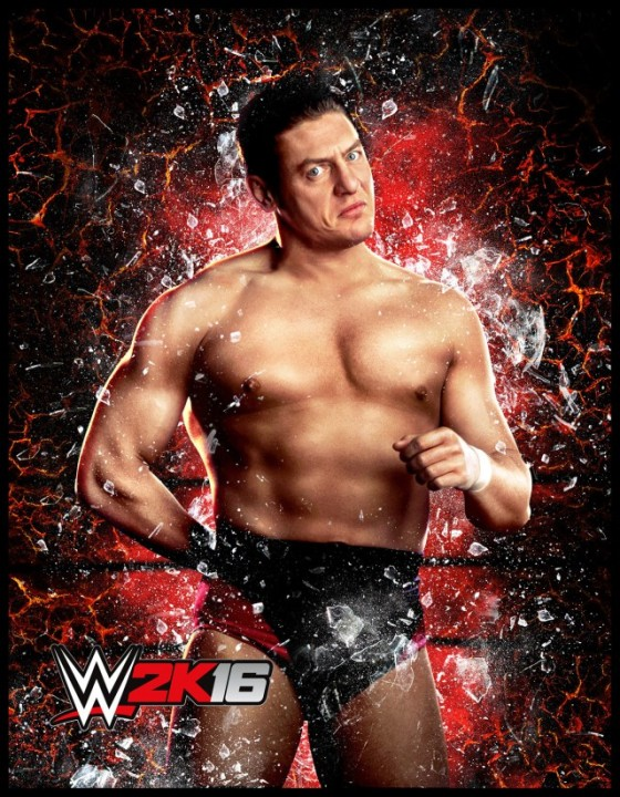 WWE 2K16 WilliamRegal