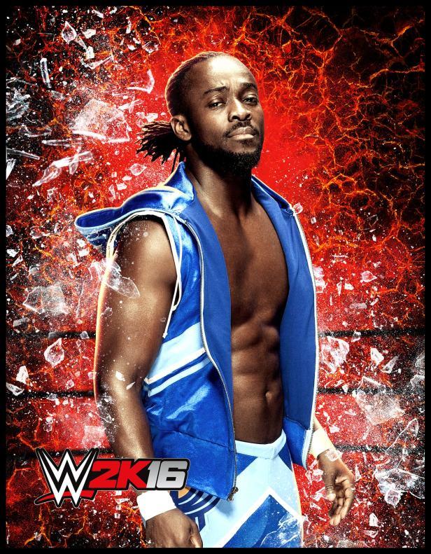 WWE 2K16 Kofi Kingston-min