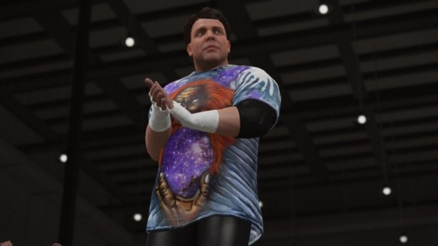 WWE 2K16 Mikey Whipwreck