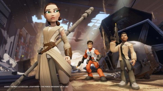 Disney Infinity 3.0 The Force Awakens TFA_Screenshot_Lineup-L