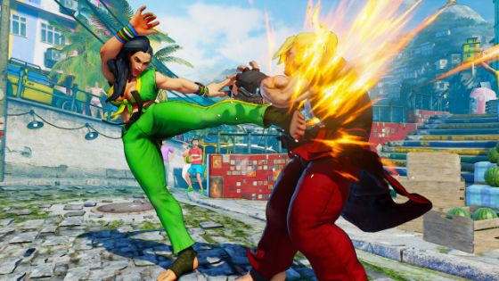 Street Fighter V Laura Screenshots (2)