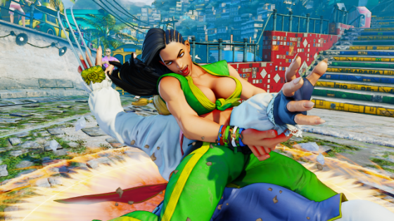Street Fighter V Laura Screenshots (4)