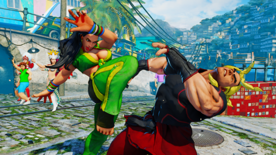 Street Fighter V Laura Screenshots (5)