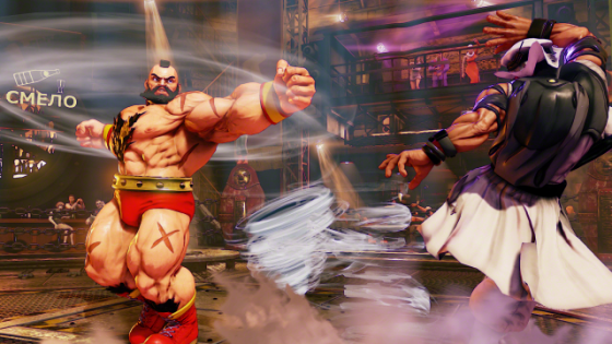 Street Fighter V Zangief Screenshots (3)