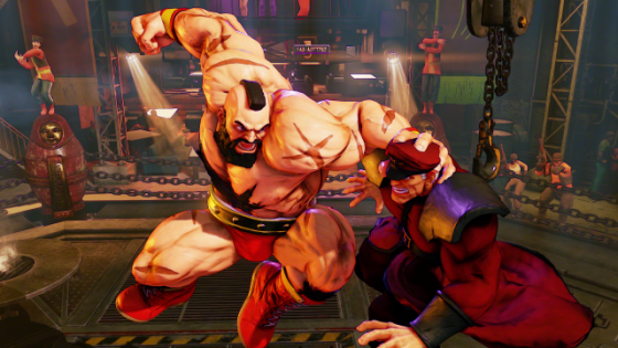 Street Fighter V Zangief Screenshots (8)