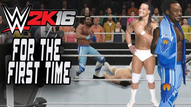 WWE2K16_ForTheFirstTime_Gameplay_Xavier_Woods_Bo_Dallas