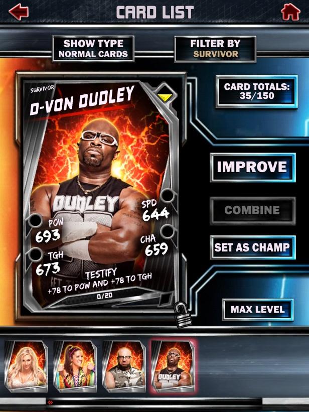 WWE Supercard Season 2 Survivor & PCC Update Cards_DVon2