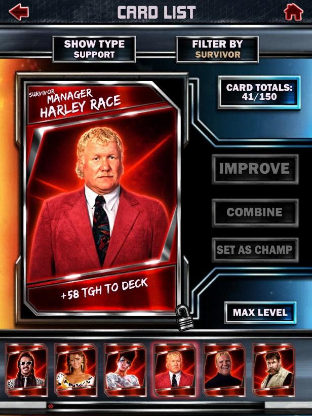 WWE Supercard Season 2 Survivor & PCC Update Cards_Race2