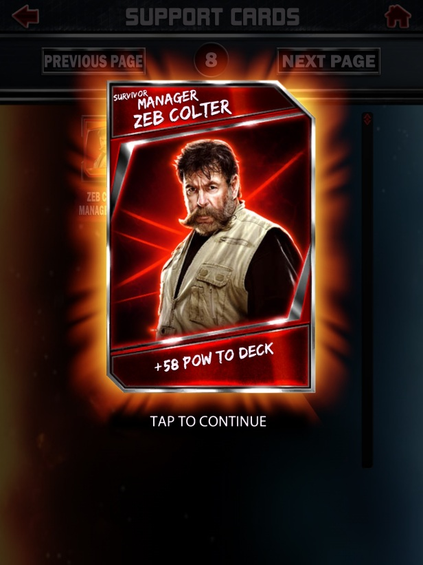 WWE Supercard Season 2 Survivor & PCC Update Cards_Zeb1