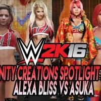 WWE 2K16 Community Creations Spotlight Matchup: Alexa Bliss vs Asuka