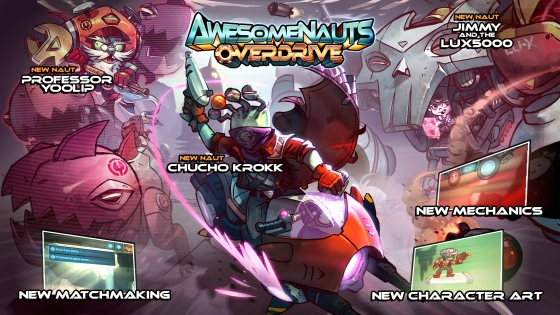 Awesomenauts Overdrive Expansion Keyart_Overdrive_1080_features