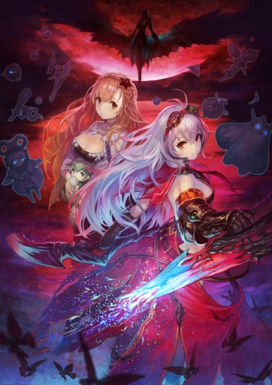 Nights_Of_Azure_Keyart Arnice_Lilysse