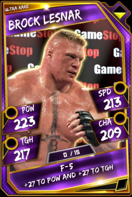 Brock Lesnar - Gamestop