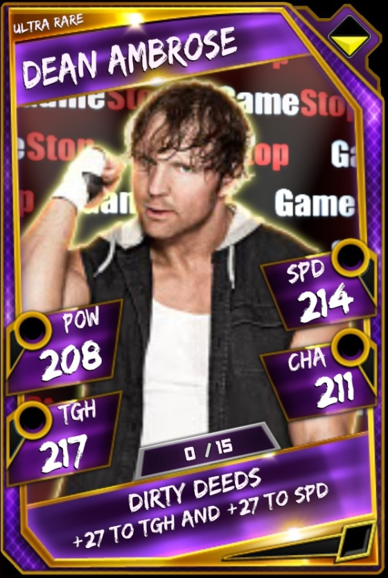 Dean Ambrose Gamestop