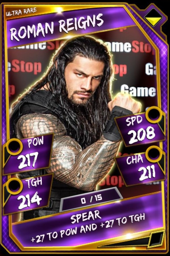 Roman Reigns - Gamestop