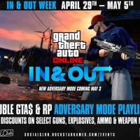 GTA Online In And Out Unleashes April 29th - May 5th