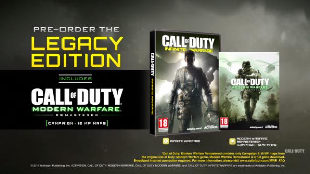 Call of duty infinity warfare legacy edition