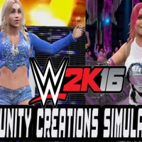 WWE 2K16 Community Creations Simulations: Charlotte Vs Natalya (Dave Mate Edition)